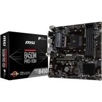 MSI B450M AM4 AMD Motherboard Photo
