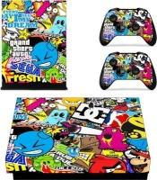 SKIN NIT SKIN-NIT Decal Skin For Xbox One X: Sticker Bomb Photo