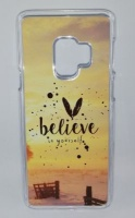 Samsung Lali and Me S9 Cell Phone Cover - Believe Photo