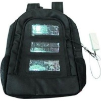 ACDC Solar Carry Bag with Build-in Solar Panel and Battery Photo