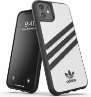 Adidas 36291 mobile phone case 15.4 cm Cover Black White 3-Stripes Snap Case for iPhone 11 Photo