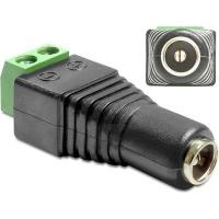 DeLOCK 65485 Adapter DC 5.5 x 2.5mm Female > Terminal Block 2 pin Photo