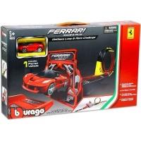 Bburago Ferrari GoGears Loop & Race Challenge Playset Photo