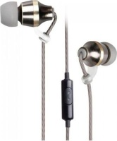 Astrum EB400 Metal Stereo In-Ear Headphones With Mic Photo