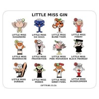 Gift Tribe 'Little Miss Gin' Mouse Pad  Photo