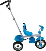 Tricycle With Turning Handle Blue Photo