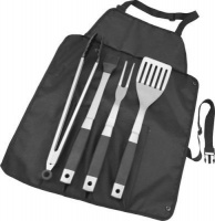 Alva Roll Up BBQ Tool Set Photo