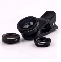 Raz Tech 3-in-1 Universal Camera Lens Kit for Smartphones Tablets and Notebooks Photo