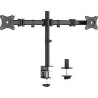 Brateck Bracket 45 Degree Tilt | 180 Degree Swivel | Side by Side | Desk Mount Photo