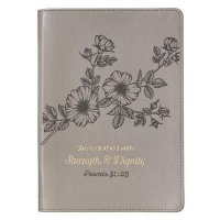 Christian Art Gifts Inc Strength & Dignity Journal Photo