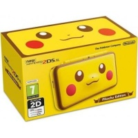 New Nintendo 2DS XL Limited Pikachu Edition Handheld Console - Includes Power Adapter - Get Another R500 Off at Checkout with Coupon Code CONSOLENOW Photo