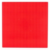 Bricks & Pieces - Flat Baseplate 32x32 - Red Photo