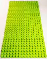 Bricks & Pieces - Block Baseplate 16x32 - Lime Photo