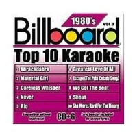 Billboard Top 10 Karoake 80's Vol 3 CD Photo