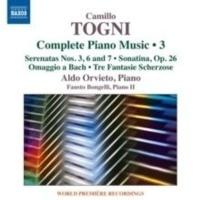 Camillo Togni: Complete Piano Music Photo