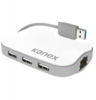 Kanex USB 3.0 Gigabit Ethernet Adapter with 3-Port USB Hub Photo