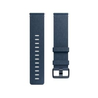 Fitbit Leather Accessory Band for Fibit Versa Smartwatch Photo