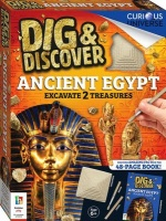 Hinkler Books Dig & Discover: Ancient Egypt - Excavate 2 Treasures Photo
