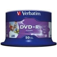 Verbatim AZO Printable 16x DVD R 50 Pack on Spindle Photo