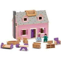 Melissa & Doug Doll Houses And Accessories - Fold and Go Mini Dolls House Photo