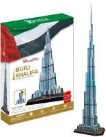 Cubic Fun 3D Puzzle - Burj Khalifa Photo