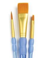 Royal Brush Golden Taklon Variety Brush Set Photo