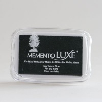 Memento LUXE Ink Pad - Northern Pine Photo