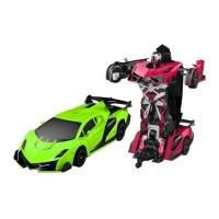 Funny Box Remote-Control Justice Fighter Autobots Transforming Car Photo