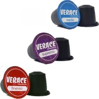 Mostra Di Caf Verace Coffee Variety Coffee Capsules - Compatible with Nespresso & Caffeluxe Capsule Coffee Machines Photo