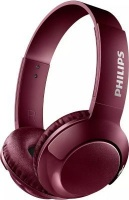 Philips SHB3075RD Wireless On-Ear Headphones With Mic Photo