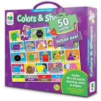 The Learning Journey Jumbo Floor Puzzle: Colors & Shapes Photo