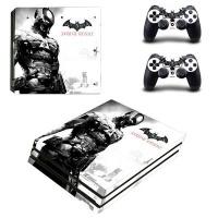 SKIN NIT SKIN-NIT Decal Skin For PS4 Pro: Batman Arkham Knight White Photo