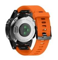 Unbranded Silicone Band for Garmin Fenix 5s/ 5s Plus - Orange Photo