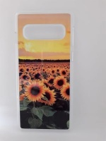 Samsung S10 Cell Phone Case Sunflower Photo