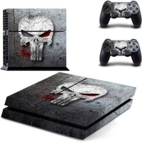 Skin-Nit Decal Skin for PS4: The Punisher Photo