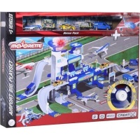 Majorette Creatix Airport Big Playset with 5 Vehicles Photo
