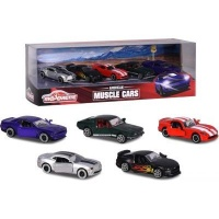 Majorette American Muscle Cars - 5 Piece Giftpack Photo