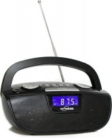 Ultralink Ultra-Link Portable Digital AM/FM Radio with MP3 Playback and Aux|Phone Photo