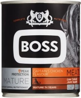BOSS Mature Captain's Chicken Flavour - Tinned Dog Food - Dog Food - Meatloaf Photo