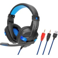 SY860MV 3.5mm Wired Noise Cancelling Gaming Headphones with Mic Photo