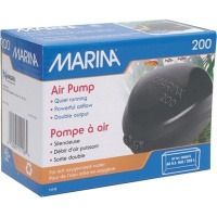 Marina 200 Air Pump for Aquariums to 225L - Double Outlet Photo