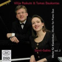 Saint-Saens: Works for Piano Duo Photo