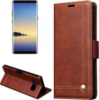 Samsung Tuff-Luv Faux Leather Folio Case and Stand for Galaxy Note 8 Photo
