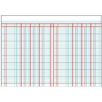 Croxley JD6071 A4 Analysis Book - 7 Cash Columns Photo