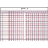Croxley JD6018 A4 Analysis Book - 18 Cash Columns Photo