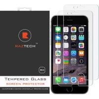 Raz Tech 2.5D Tempered Glass Screen Protector for Apple iPhone 8 and iPhone 7 and iPhone 6S Photo
