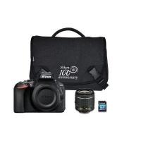 Nikon CAMNISLD5600K004 Digital SLR Camera with 18-55mm VR Lens Shoulder Bag and 16GB SD Photo