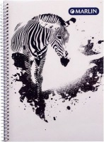 Marlin Press Marlin Side Spiral Design Notebook Photo