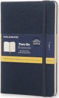 Moleskine Two-Go Notebook Hard Medium Ruled Photo