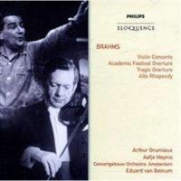 Brahms: Violin Concerto/Academic Festival Overture/... Photo